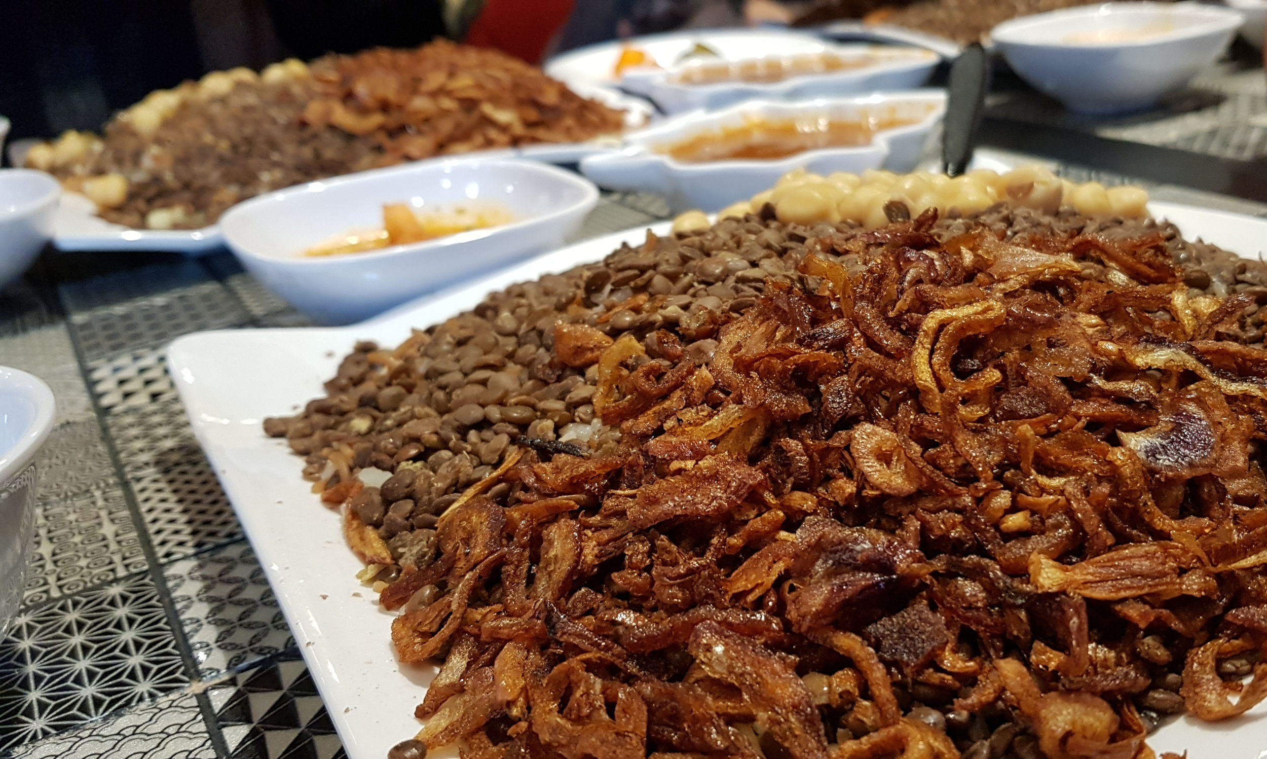 Canva - Egyptian Rice - Koshari