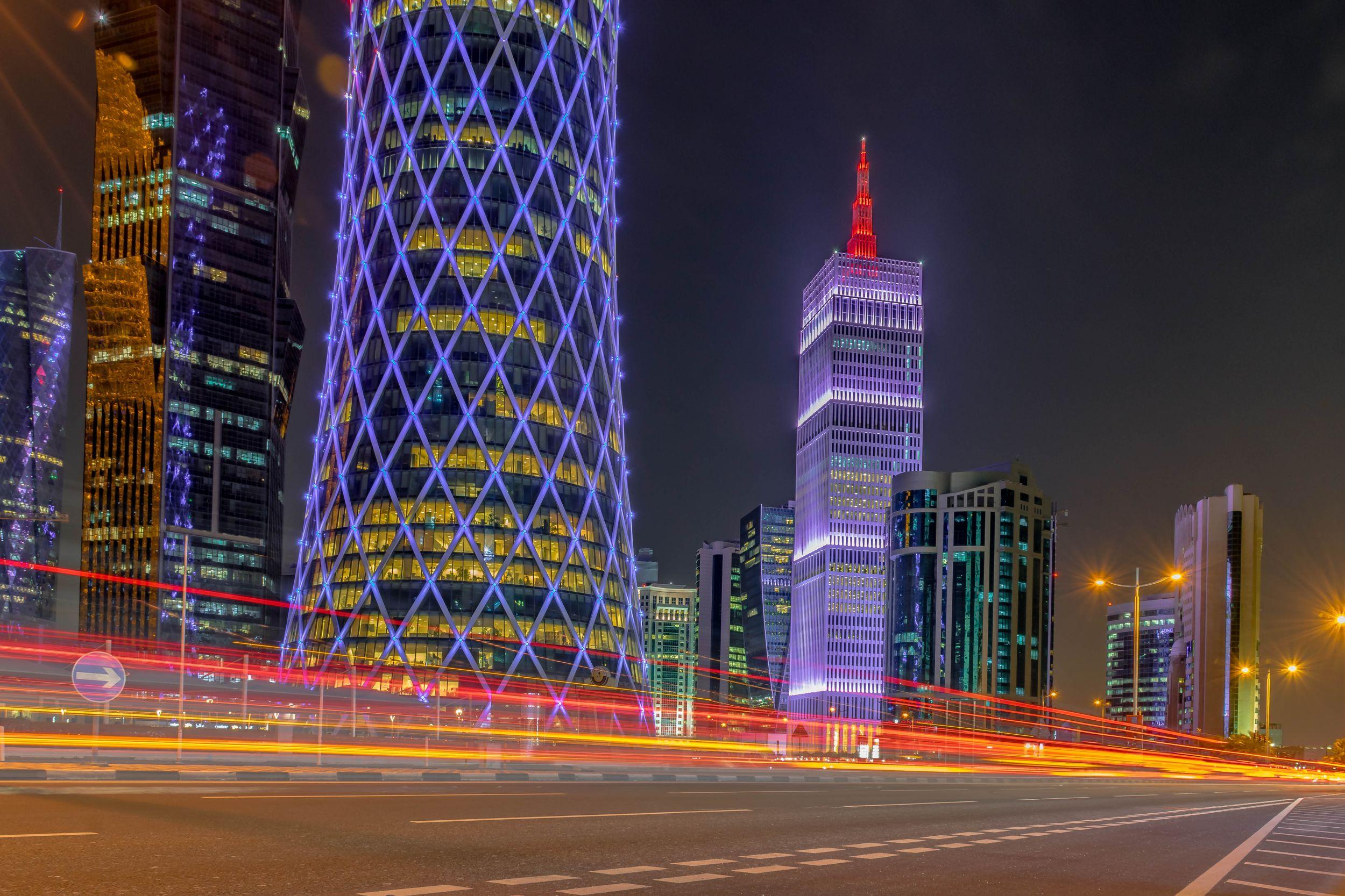 Canva - Doha CityScape Qatar